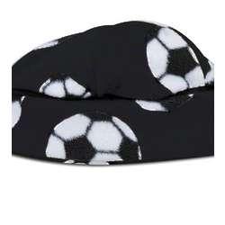 Soccer Ball Fleece Beanie