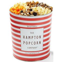 6 Flavor 3.5 Gallon Popcorn Tin
