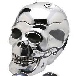 Shiny Skull Cookie Jar