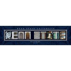 Penn State University Architecture Personalized Print