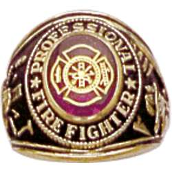 Professional Firefighter Ring