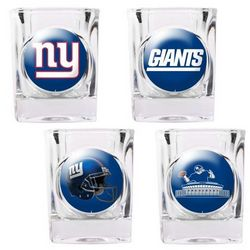 New York Giants Shot Glass Set
