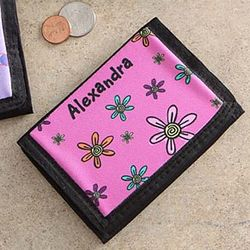 You Choose Girl's Personalized Wallet