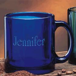 Gallery Cobalt Glass Coffee Mug