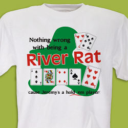 River Rat Poker T-Shirt