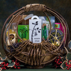 The Woods Are Lovely Gift Basket
