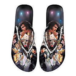 Elvis Presley Showstopper Flip Flops