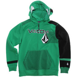 Kid/Youth Hammer Full Zip Hoodie in Poison Green