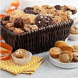 Autumn Bites Cookie and Muffin Gift Basket