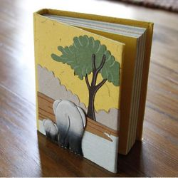 Elephant Poo Paper Mini Journal