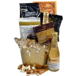 Bucket of Gold Gift Basket