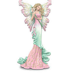 Wishes For Hope Pink Ribbon Fairy Figurine
