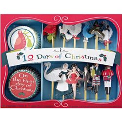 12 Days of Christmas Cupcake Kit
