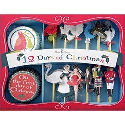 12 Days of Christmas Cupcake Kit