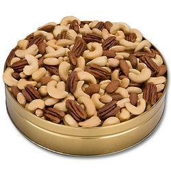 Imperial Nut Mix 1 Pound Gift Tin