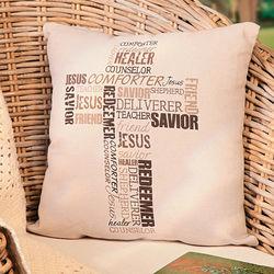 Redeemer Throw Pillow