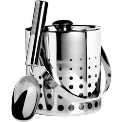 Cheers Stainless Steel Ice Bucket and Scoop