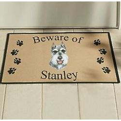 Personalized Dog Breed Doormat