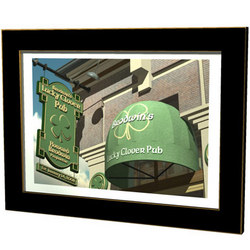 Personalized Lucky Clover Pub Sign Print