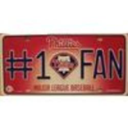 Phillies No.1 Fan License Plate