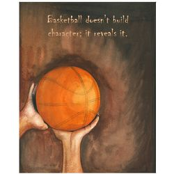Basketball Diaries Personalized Print