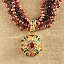 Mongolian Filigree Necklace