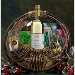 Through the Woods Wine Gift Basket