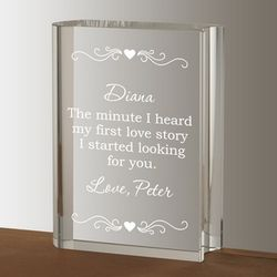 Our Love Story Personalized Gift