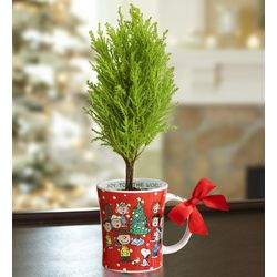 Peanuts Christmas Tree and Mug