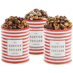 3 Flavor Popcorn Tin