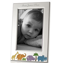 Animal Jungle Personalized Baby Picture Frame