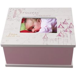 Princess Treasure Personalized Memory Box