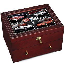 Corvette - American Classic Wooden Box