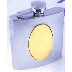 Personalized & Engraved Two Tone Flask