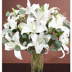 Sympathy Lilies Bouquet