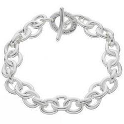 Silver Signature Bracelet