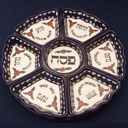 Armenian-style Passover Plate