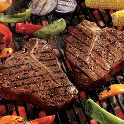 Four 18 oz. T-Bone Steaks