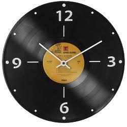 Record Album Clock