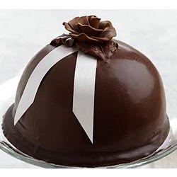 """5"""" Chocolate Velvet Boule Dessert"""