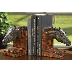 Race Horse Bookends