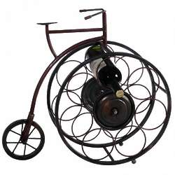 Penny Farthing Bicycle Wine Rack