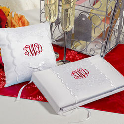 Monogrammed Wedding Set