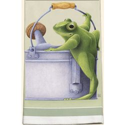 Frog Kitchen Towel