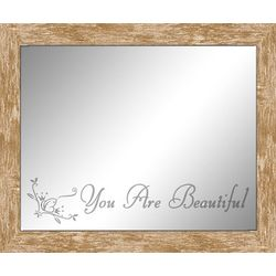 You Are Beautiful Inspirational Frame