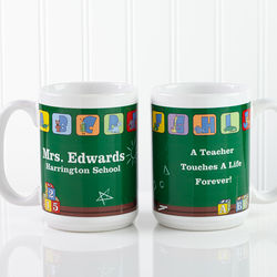 Teacher's Little Learners Personalized Large Coffee Mug