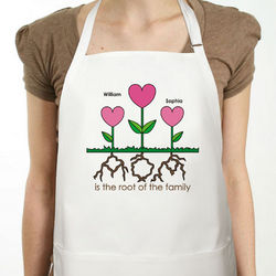 Personalized Mom Apron