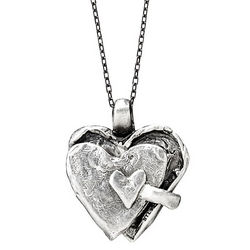 I Am Loved Sterling Silver Locket