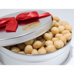 Delicious Whole Macadamias Gift Tin