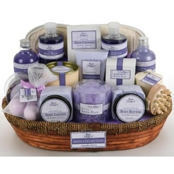 Lavender Vanilla Bath Collection